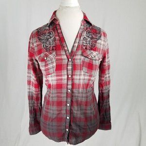 MAURICES PREMIUM: Red Flannel Shirt